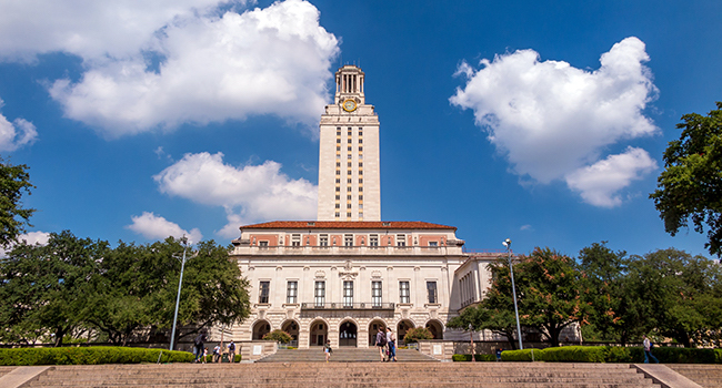 UT Austin main building.